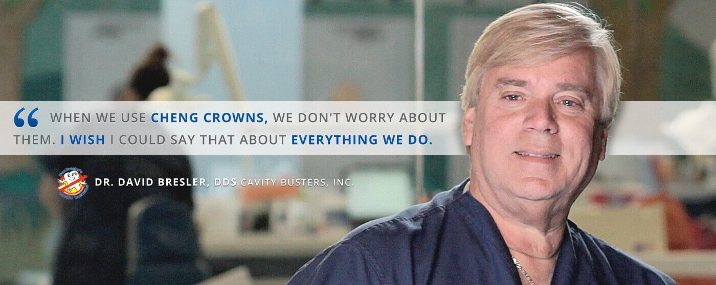 Dr. David Bresler, DDS Testimonial on pediatric zirconia crowns